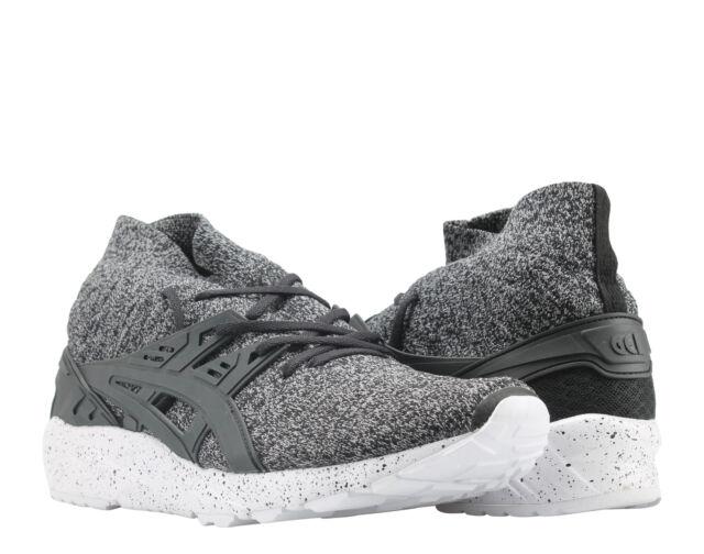 best loved be7c3 59ec8 Asics Gel-Kayano Trainer Knit MT Black/Oreo Men's Running Shoes HN7P1-9090