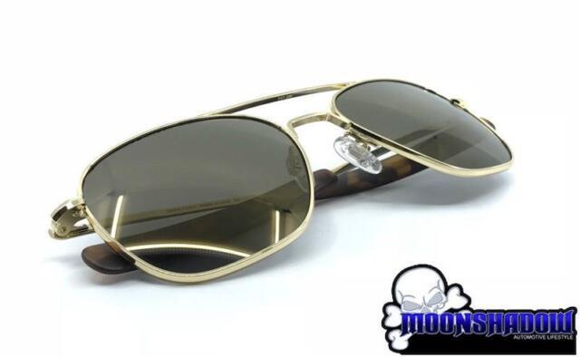 f89001f1cc Glasses Randolph Engineering Aviator 23k GP Polarized Sunglasses 100  Original