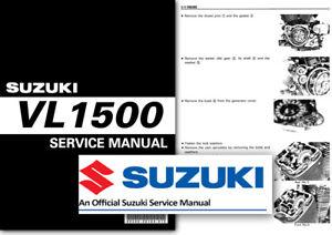 suzuki vl1500 intruder boulevard c90 lc workshop service shop manual rh ebay ie Suzuki Intruder 1500 Top Speed 2000 Suzuki VL 1500 Specs