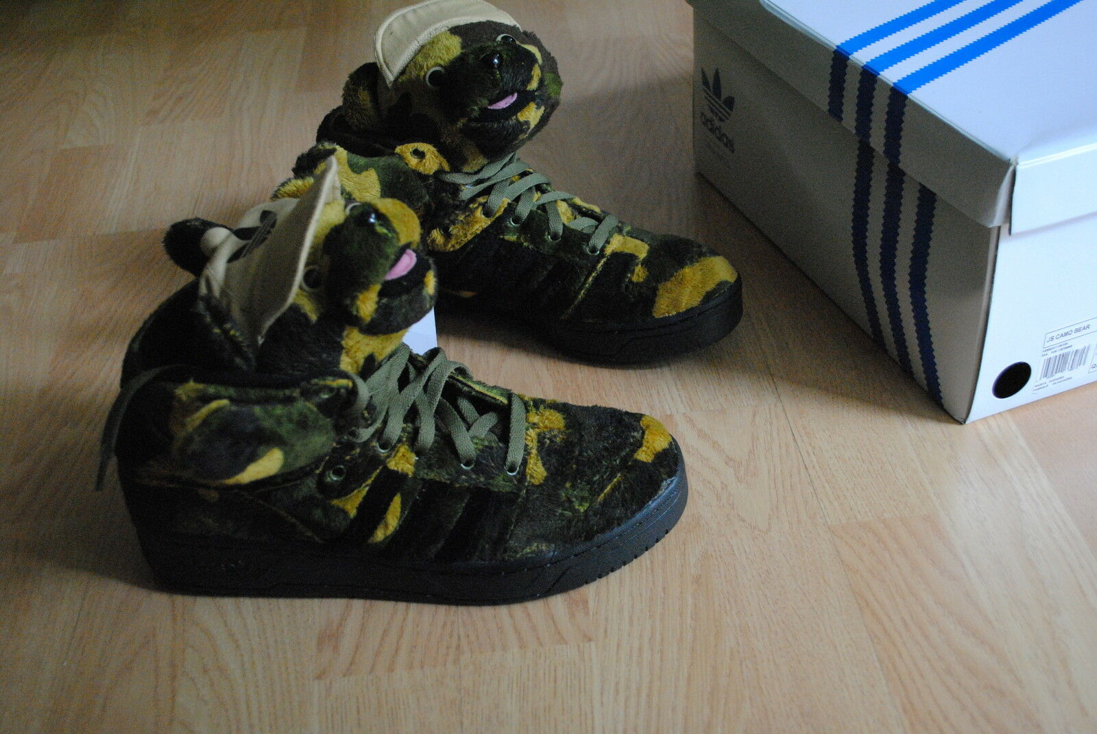 adidas JS Camo Bear 36 38 39 40,5 42 43 wings obyo panda q20917 jeremy scott