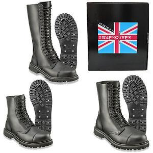 Undercover-Boots-Steel-Toe-Rangers-10-14-20-Hole-Skinhead-Gothic-Punk-Biker