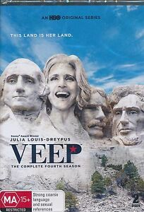 VEEP-The-Complete-Fourth-Season-DVD-NEW-Julia-Louis-Dreyfus
