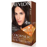 Revlon Colorsilk Beautiful Permanent Hair Color (20) Brown/black on sale