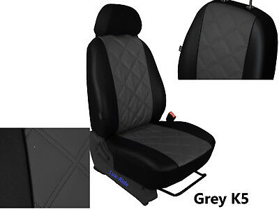 VAUXHALL VIVARO 2+1 2001-2014 ECO LEATHER /& ALICANTE SEAT COVERS MADE TO MEASURE