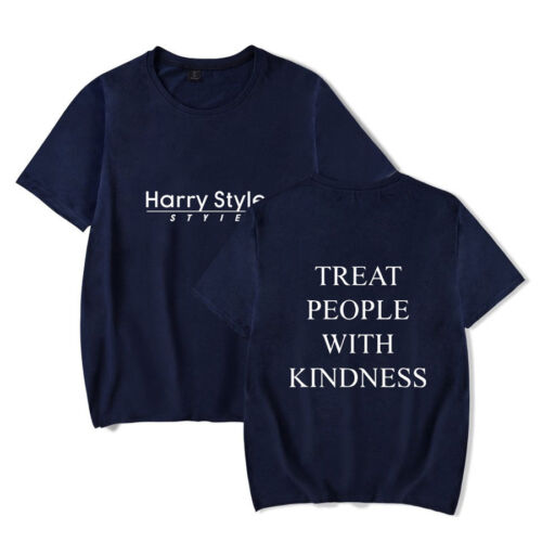 Harry Styles T-shirts Treat People With Kindness Tee Shirt Unisex Tops XXS-4XL 3