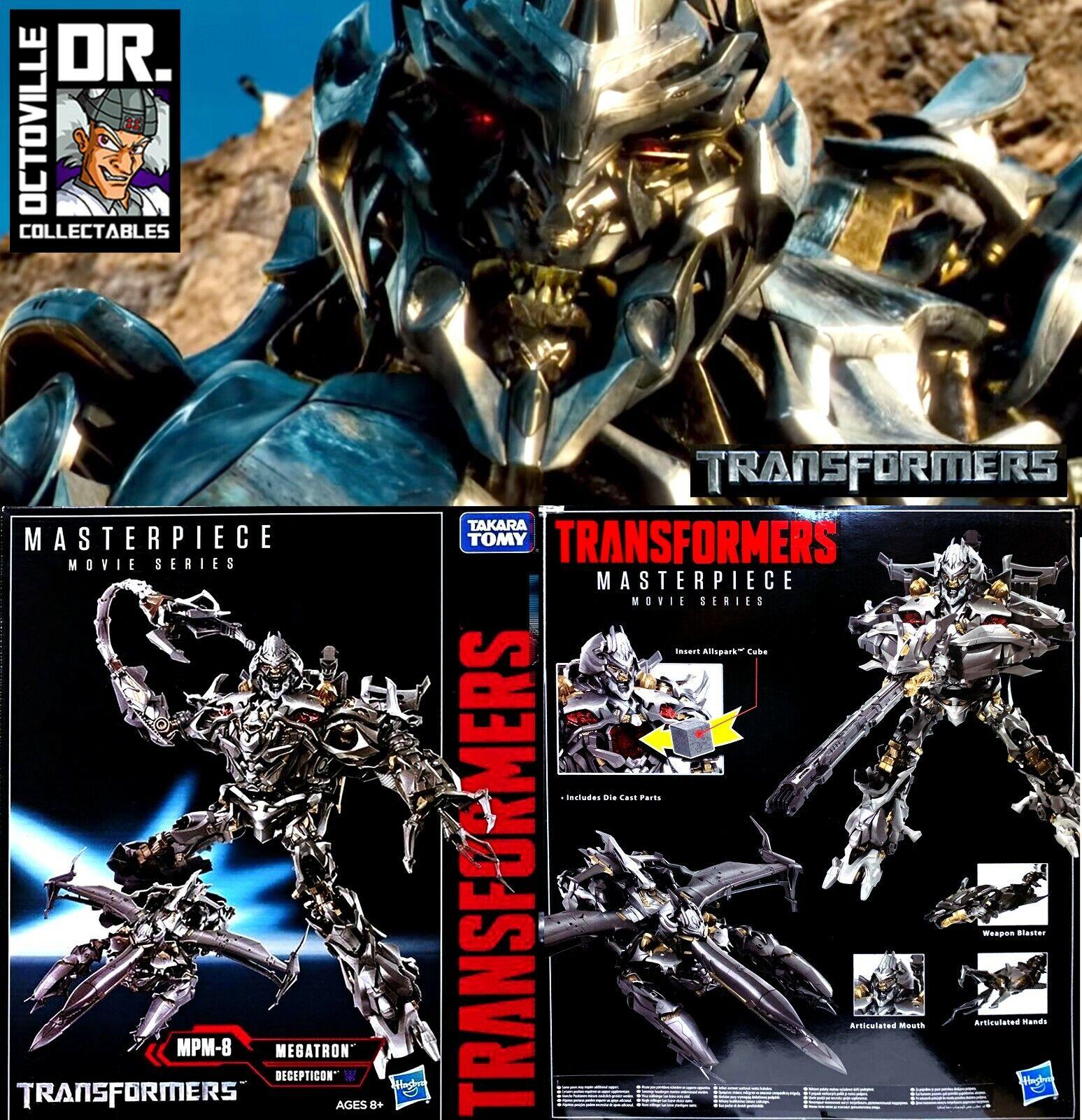 Transformers MPM-08 Movie Masterpiece Megatron Nuovo di Zecca