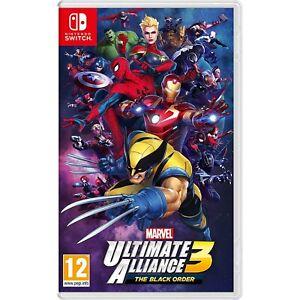 Marvel Ultimate Alliance 3: the Black Order Nintendo Switch, Import Region Free