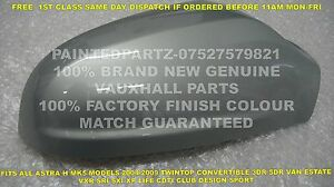 A1 N//S MOONLAND GREY GENUINE VAUXHALL MK5 ASTRA H SRI SXI DOOR WING MIRROR COVER
