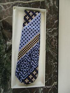 l'ultimo miglior prezzo per nuovi prodotti per Détails sur cravate Lanvin Paris en soie XXème vintage CURIOSITY by PN