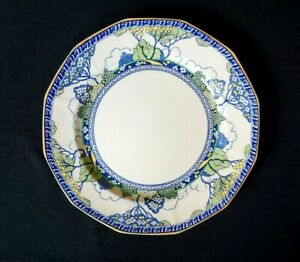 Beautiful-Royal-Doulton-Art-Deco-Merryweather-Dinner-Plate