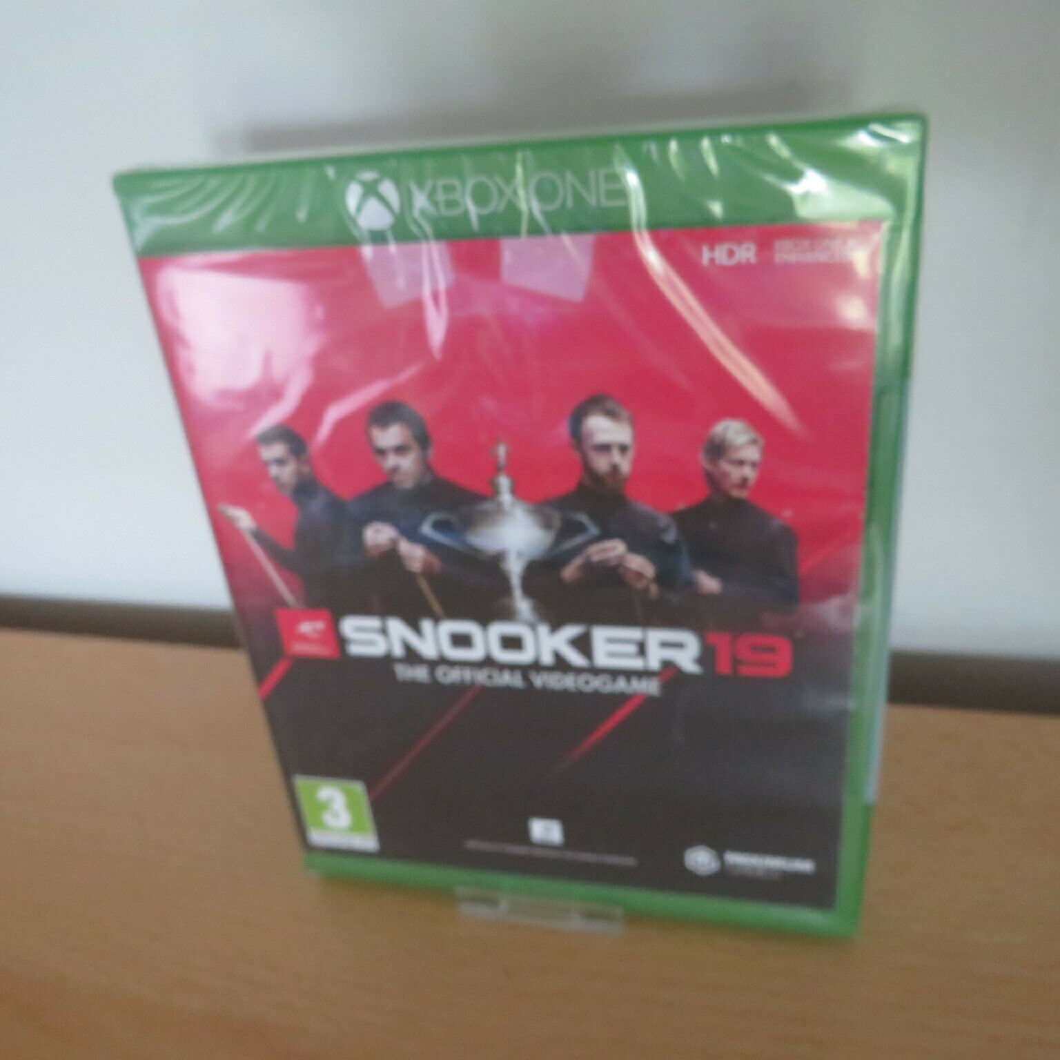 Snooker 19: The Official Video Game (Xbox One) new sealed