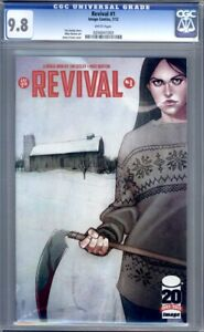 Revival #1  Image Comics (2012) Jenny Frison Cover Optioned 1st Print CGC 9.8