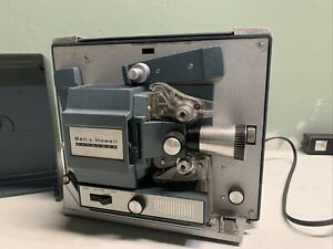Vintage-Bell-amp-Howell-Autoload-Super-8mm-Movie-Projector-COOL-PROP-DECOR-OLD-DIY