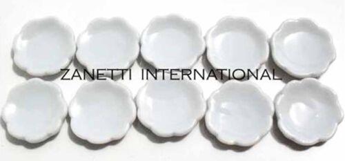 200-Piece Dollhouse Miniature White Ceramic Plates Dishes Set Wholesale Plate