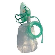 Sauerstoffmaske mit Reservoirbeutel für Erwachsene