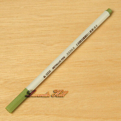 Metallic Marker Pens Gold Silver Pink White Ink for Craft Card Making Scrapbook