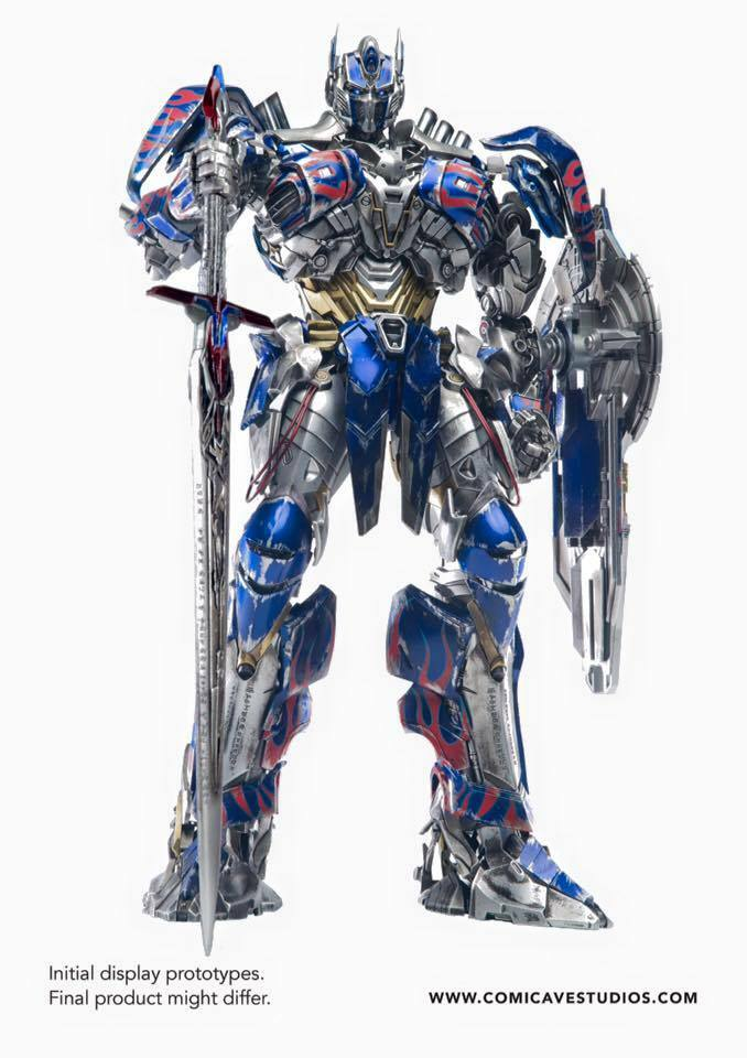 Comicave Studios Studios Studios 1 22 Scale Transformers Optimus Prime Collectible Figure New 0cf2a8