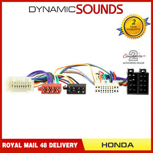 CT10HD02-Parrot-SOT-T-Harness-Adaptor-ISO-Wiring-Lead-For-Honda-CRV-1999-2007