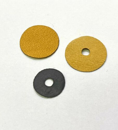 100 Pieces Each Simplex Player Piano Mechanism Leather Valve Facings Inner//Outer