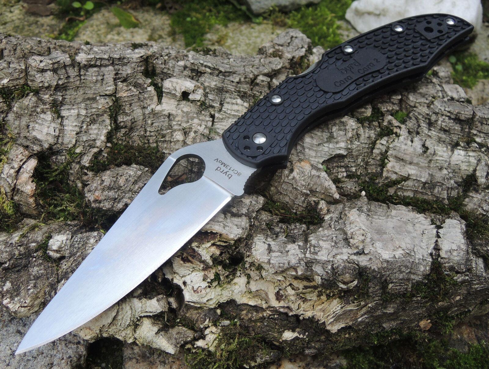 Spyderco BYRD CARA CARA Messer Taschenmesser 8Cr13MoV Stahl FRN Griff
