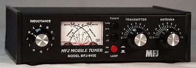MFJ-945E HF Antenna Tuner - 300W 1.8-60Mhz