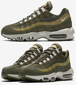 Details about Nike Air Max 95 Essential Sneakers Men's Lifestyle Shoes Olive