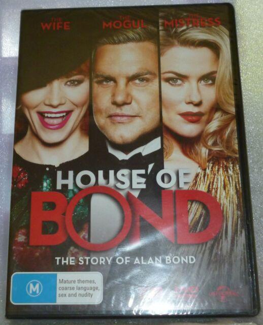 House Of Bond DVD NEW SEALED REGION 4 Aussie Free Postage