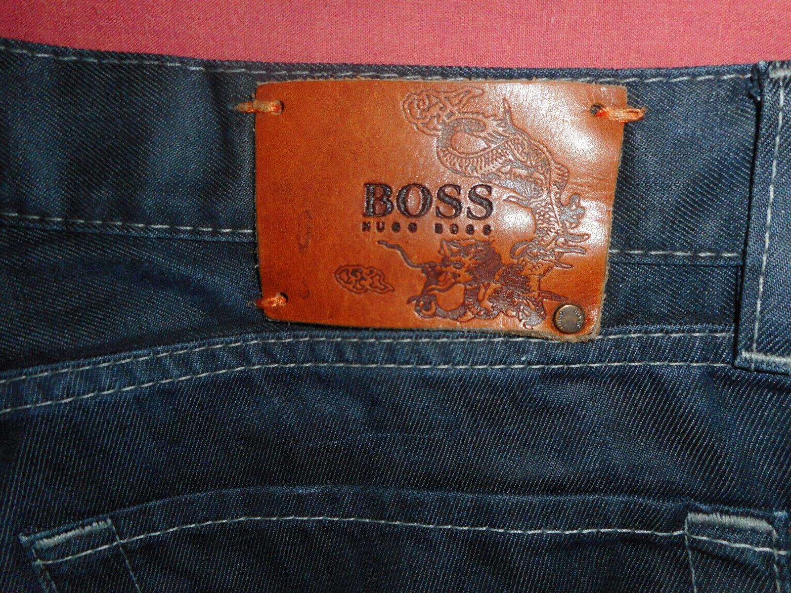 Hugo Boss Boss Boss  W36 L32  Mens Navy Denim Jeans  Button Fly  B438  | Wirtschaftlich und praktisch  | New Products  | Export  0c8d61