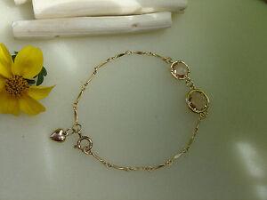 Goldarmband-585-goldfilled-mit-Kristall-in-aprikot