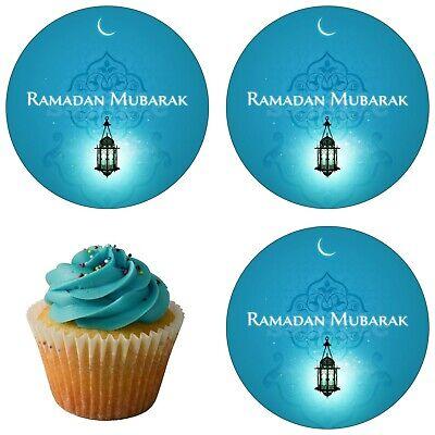 2019 Neuer Stil Ramadan Eid Mubarak Al-fitr Eßbar Party Deko Muffinaufleger Tortenaufleger Neu