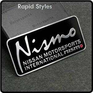 Nismo-Badge-Emblem-Decal-Sticker-Logo-Nissan-Motorsport-Aluminium-metal-Car-65