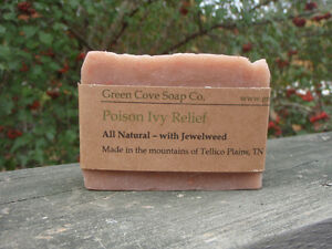 Poison-Ivy-Itch-Relief-Soap-4-oz-Natural-Jewel-Weed-Soap-Green-Cove-Soa