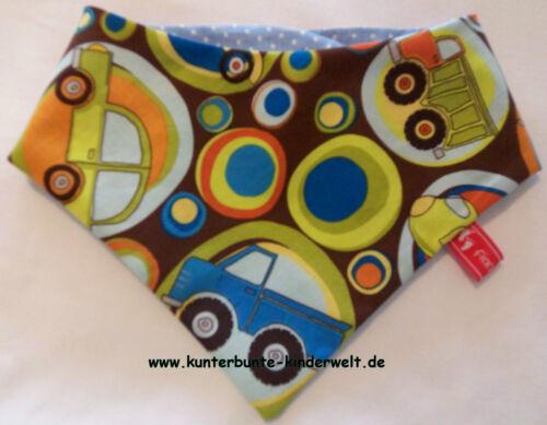 Baby-Halstuch Kinderhalstuch Sabberschutz Autos Lokomotiven Flugzeuge Baumwolle