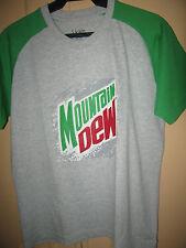 Mountain Dew  soda T- Shirt- medium