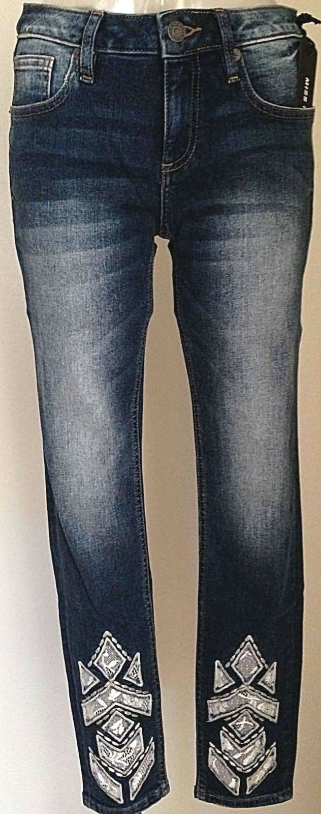 NEW WOMEN'S MISS ME JEANS WITH TAG 2008AK ANKLE SKINNY INSEAM 27