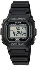 Casio Digital Chronograph Watch Black Resin Alarm 7 Year Battery F108wh-1a