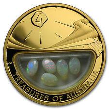 2008 1 oz Proof Gold Opal Treasures of Australia - SKU #101584