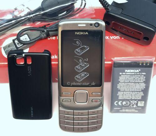1 von 1 - NOKIA 6600i SLIDE HANDY SMARTPHONE UNLOCKED BLUETOOTH UMTS KAMERA MP3 NEU NEW
