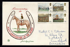 1979 Britain Lancashire 200th Anniversary of the Derby Fdc