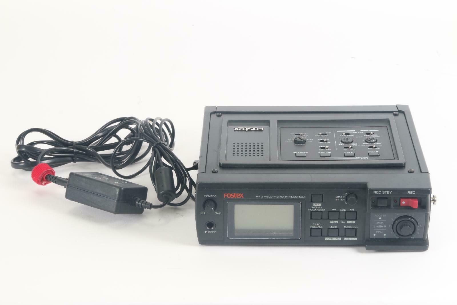 Fostex FR-2 Field Memory Recorder- Fair Condition With Power Adapter