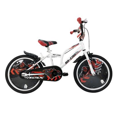 Bici Bicicletta 20 Mtb Ibk Go-car Da Bambino / Ragazzo Su Sfera Bianca Bike Avere Uno Stile Nazionale Unico