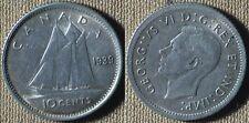 Canada : 1939 10 Ct CH.AU-UNC Luster # 34   IR4750