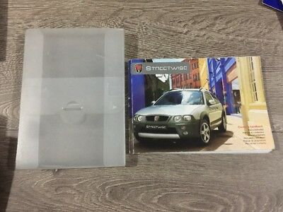 #10 Rover Streetwise Proprietari Manuale Manuale & Cartella Libro Pack Set 2003-2005- Materiali Superiori