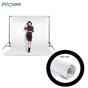 Proocam-NWC-WH-Non-woven-cloth-Professioanl-Backdrop-background-for-Photographer