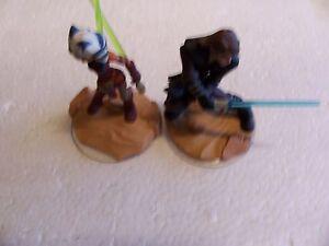 Disney Infinity StarWars Figures (Ahsoka Tano And Luke Skywalker )  . Lot #z18