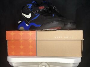 d28061186aefb Nike Air Force Max 180 Barkley OG Men's Shoes Royal Blue/Black NDS ...