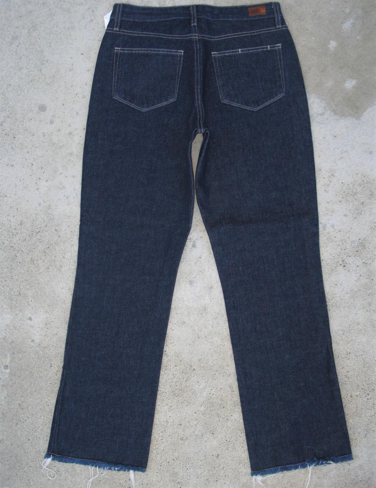 Paige Premium Donna a a a Vita Alta Mamma Jeans Taglie 27 Scuro Logori Orlo Nuovo 32ee94