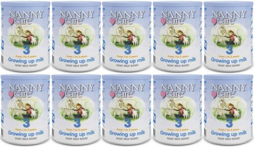 NANNYCare Stage 3 Growing Up Milk Pack of 10 900g