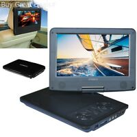 Synagy A29 9inch Portable Dvd,cd Player Screen Dual With Swivel Screen Car-black