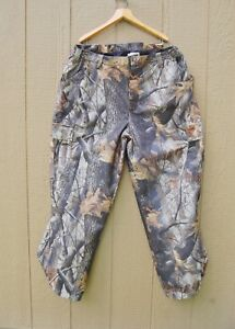 Woolrich-Real-Tree-Camo-Pants-Hunting-Man-XL-Outdoor-Guide-Collection-Polyester